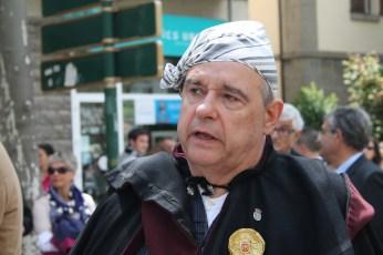 Francisco José Arbués, presidente de la Hermandad del Primer Viernes de Mayo.