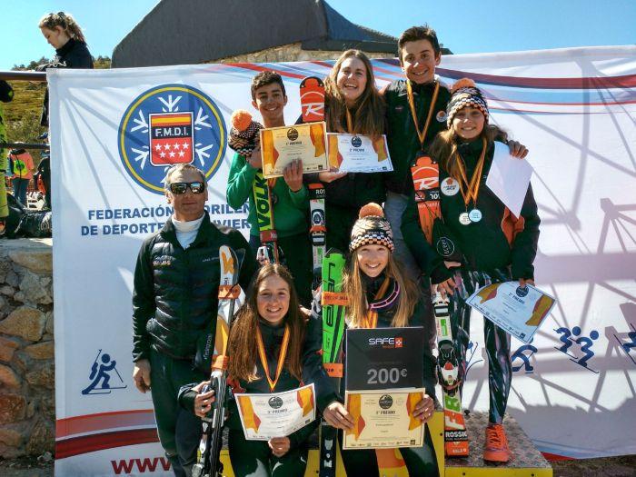Esquiadores del CEJ