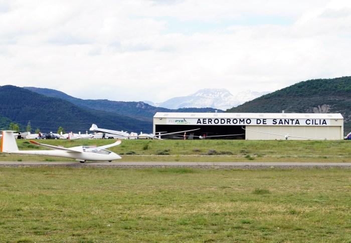 Aeródromo de Santa Cilia Instalac RRuiz