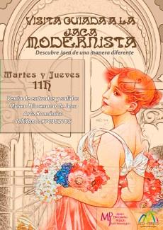 cartel JACA MODERNISTA
