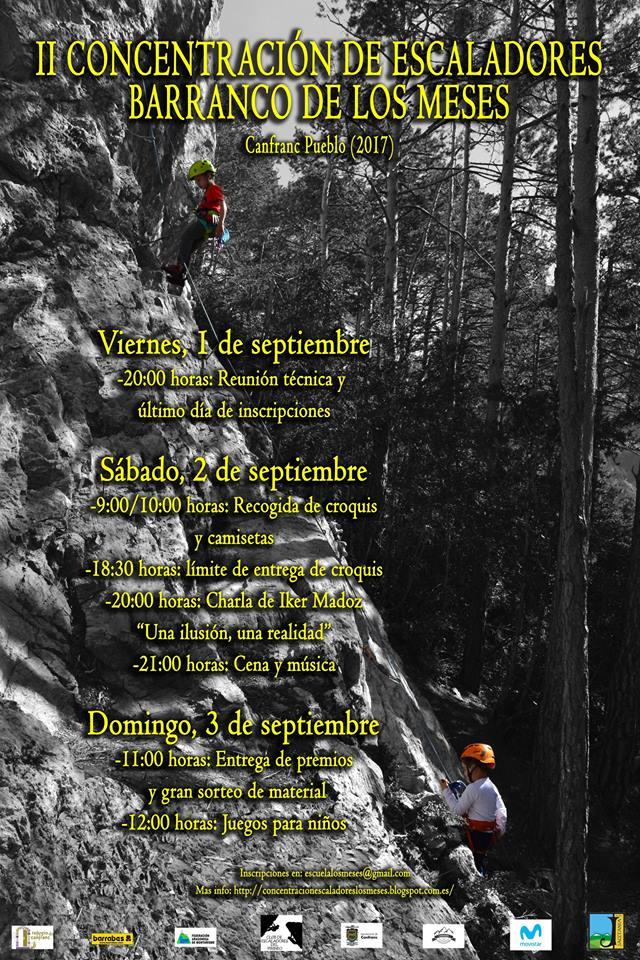 encuentro de escaladores