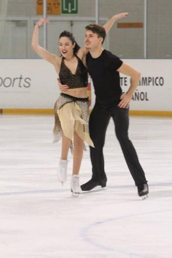Celia Robledo y Luis Fenero. (FOTO: Myriam Stokman)