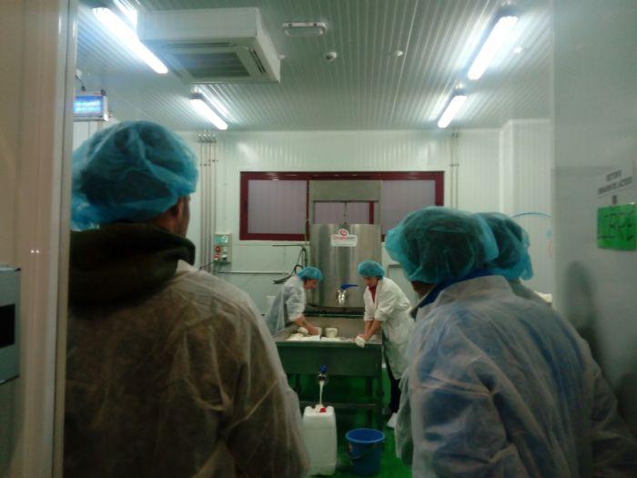 VIVERO AGROALIMENTARIO DE BIESCAS. Visita de estudiantes.