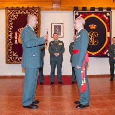 FAJA GENERAL ARRIBAS Entrega del bastón de mando por el Tcol Vargas 05