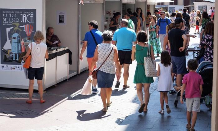 ACTIVIDADES. Feria del libro de Jaca 2018. (FOTO: Rebeca Ruiz)