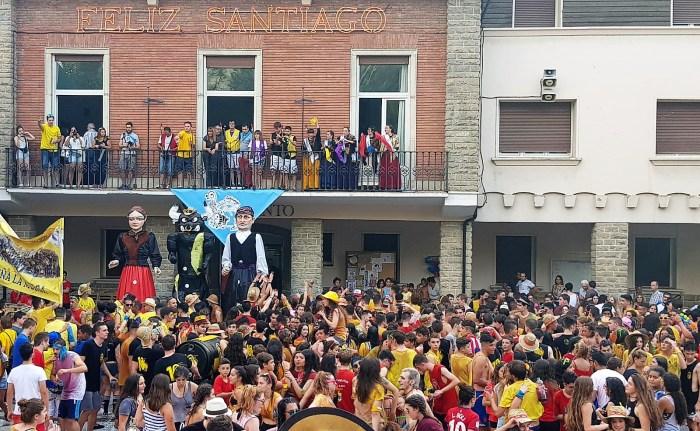 Tampoco habrá Fiestas de Santiago este año en Sabiñánigo. En la imagen, de archivo, las Fiestas de Santiago. (FOTO: Rebeca Ruiz)