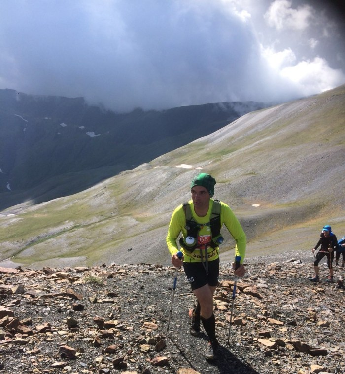 GC corredor ultra trail 105 km