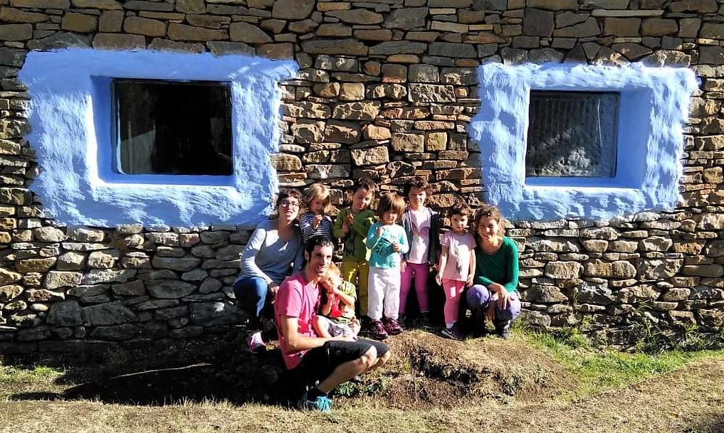 La Escuela en la Naturaleza Caxico comienza el curso escolar en Ulle
