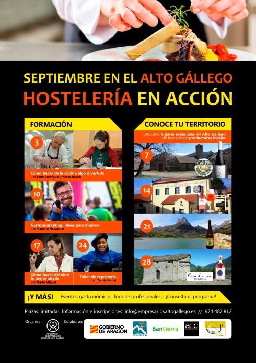 Septiembre en el Alto Gállego - Hostelería en acción - AEPAG