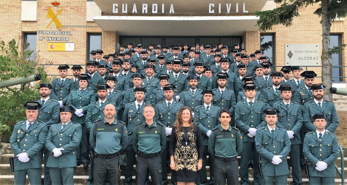 22 nuevos agentes de la Guardia Civil prestan servicio desde hoy en Jaca