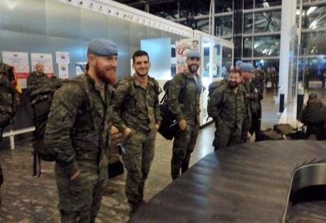 Militares Líbano. Tercer vuelo (1)