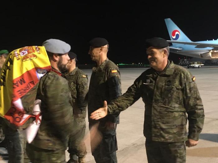 Regreso Militares Líbano (3)