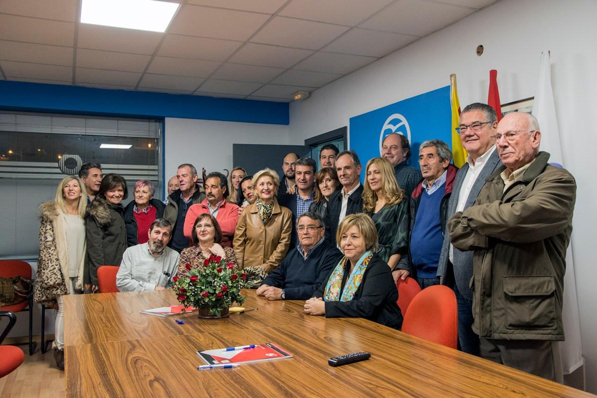 El Partido Popular estrena sede comarcal en Sabiñánigo