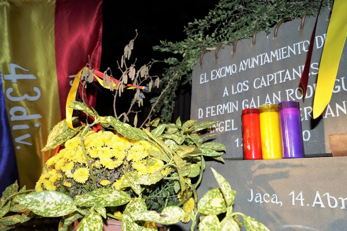 El Círculo Republicano Galán y García conmemora la Sublevación de Jaca