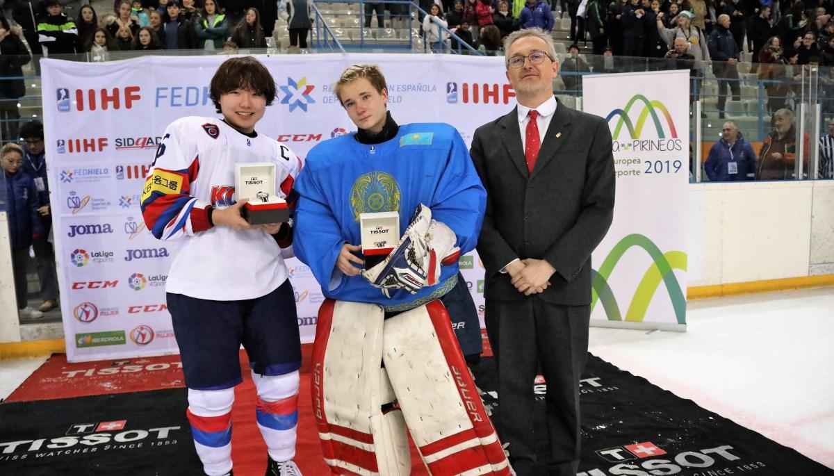 España termina en quinta posición el Mundial de Hockey Hielo de Jaca, que da a Corea el ascenso de División