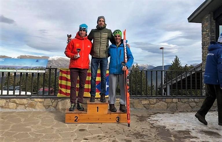 Buenos resultados para Mayencos en la primera competición de esquí de fondo de 2019