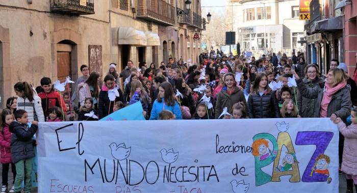 MARCHA POR LA PAZ. Imagen de archivo de la marcha de 2019. (FOTO: Rebeca Ruiz)