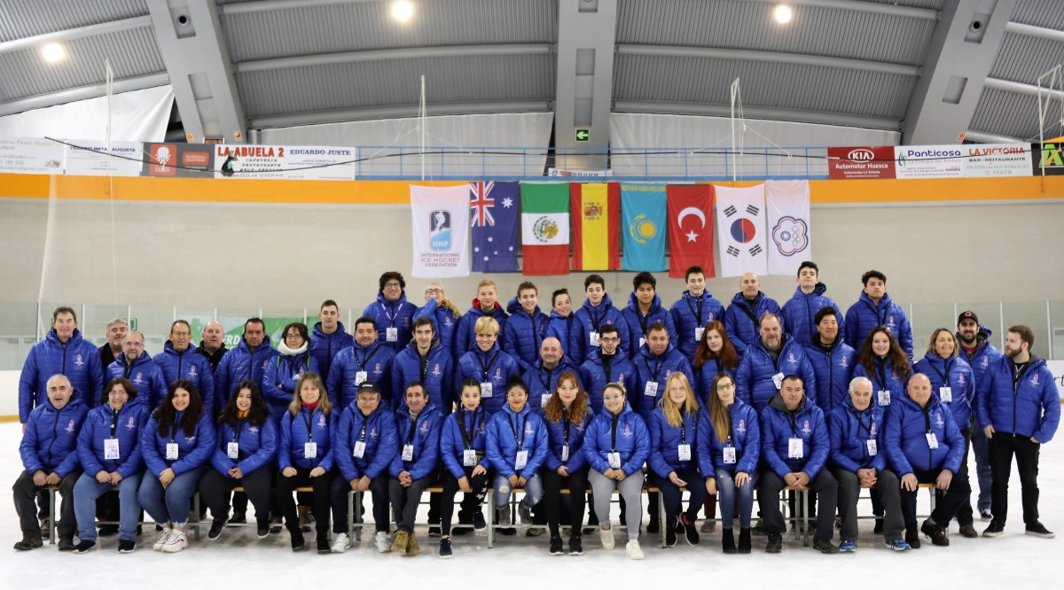 Los voluntarios de Jaca, la mejor selección del Mundial