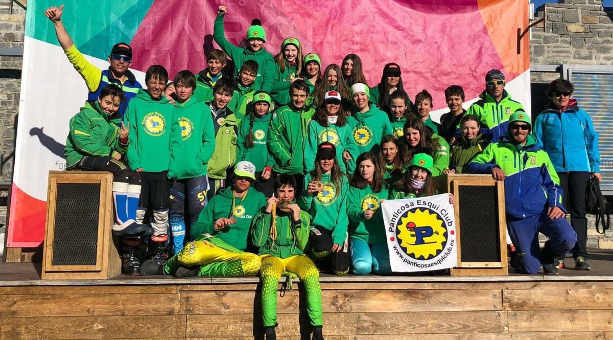 Hugo Robres, campeón de Aragón de Slalom Gigante