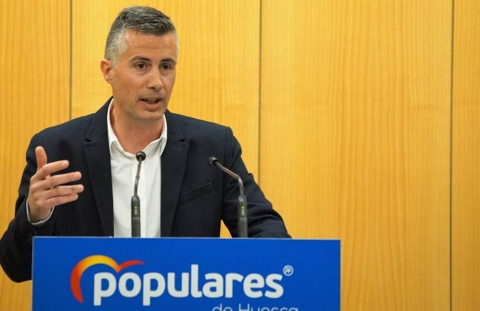CARLOS SERRANO. Carlos Serrano, portavoz del PP en el Ayuntamiento de Jaca. (FOTO: Rebeca Ruiz)