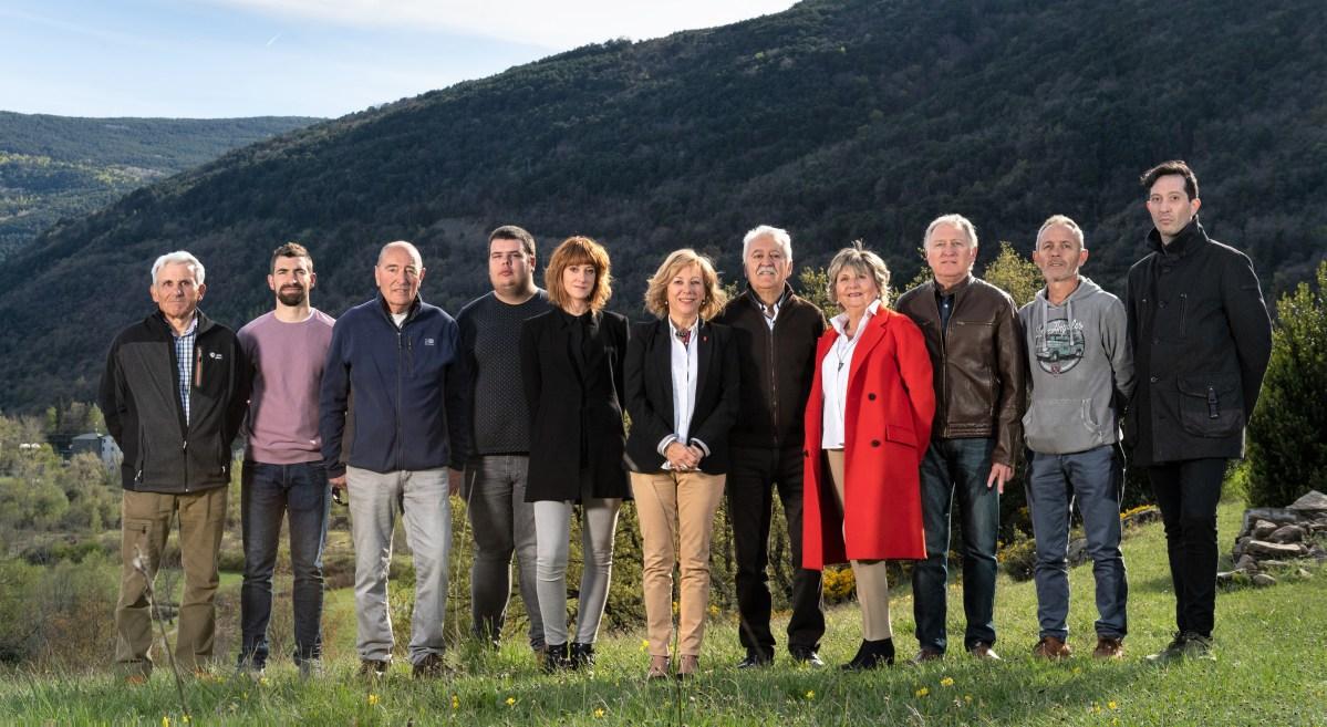 Candidatura del PSOE a las Municipales de Biescas