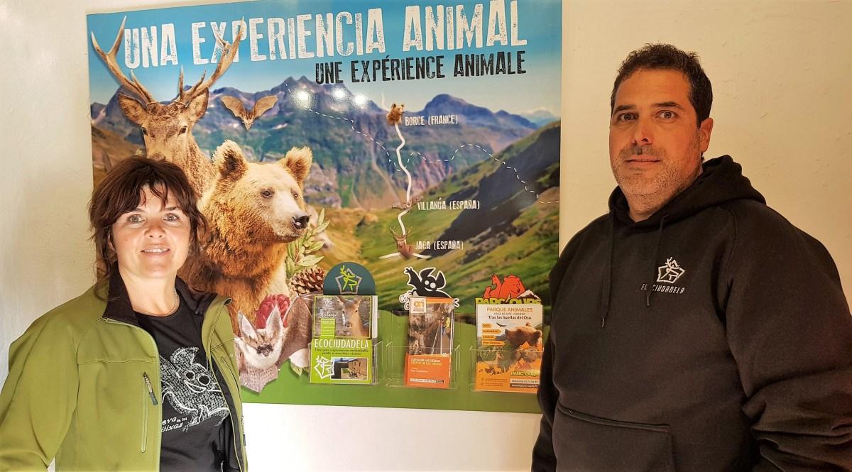 Las Güixas, la Ciudadela de Jaca y el Parc d'Ours de Borce, unidos por una 'experiencia animal'