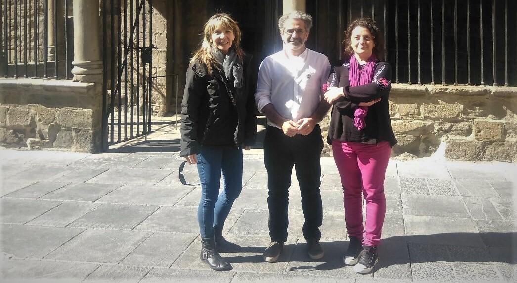 Alto Aragón en Común apuesta por la ganadería extensiva y plantea una Escuela de Pastores, en la presentación de su proyecto en Jaca