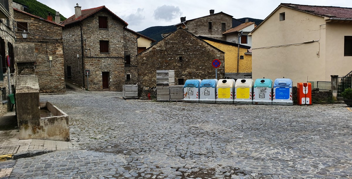 Biescas da un paso más para mejorar la accesibilidad del Barrio de la Peña con la licitación de la reforma de la plaza