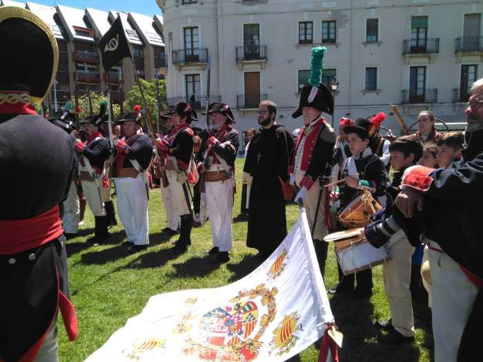 CIUDADELA. Recreación Napoleónica. (FOTO: Fátima Ruiz)