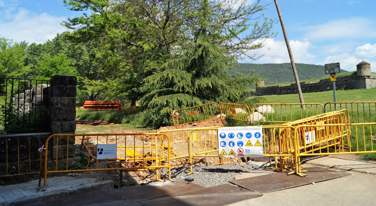 Desbloqueadas las obras de urbanización del vial perimetral  de la Ciudadela de Jaca