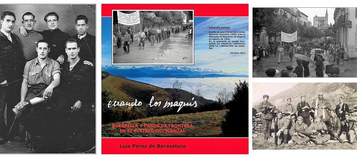 Luis Pérez de Berasaluce presenta en Expoforga su libro 'Cuando los maquis'