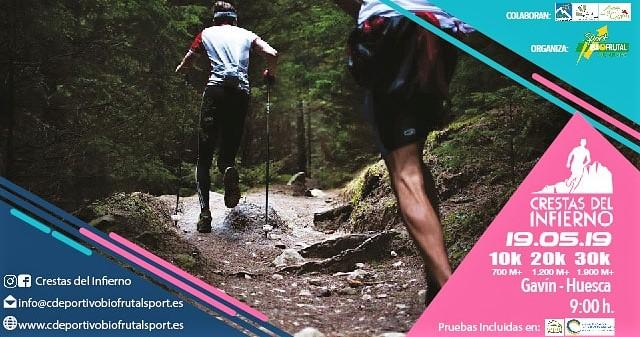 Gavín acoge las Crestas del Infierno, el gran evento de trail running de la Tierra de Biescas