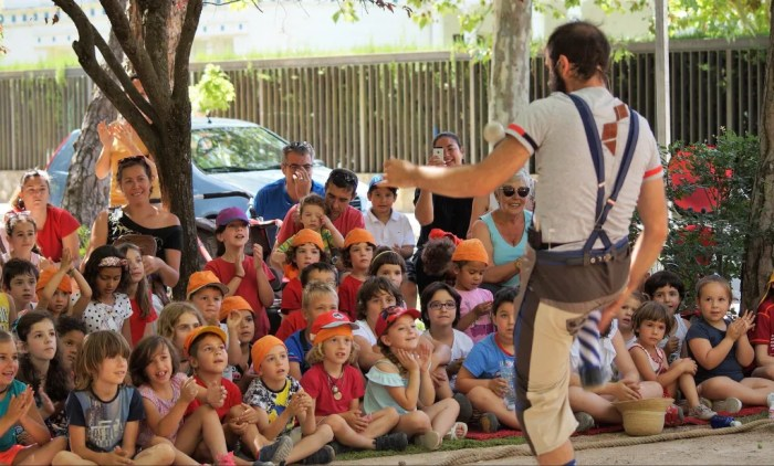 Jaca confirma que tampoco habrá este año fiestas de Santa Orosia. En la imagen, de archivo, actividades infantiles en las fiestas de Jaca de 2019. (FOTO: Rebeca Ruiz)