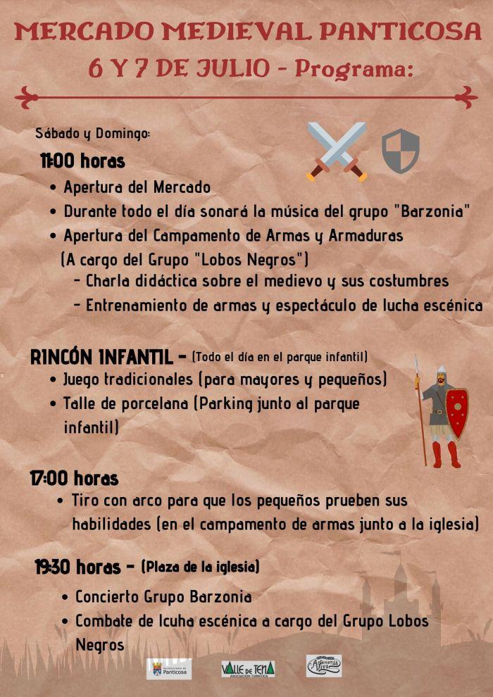 MERCADO MEDIEVAL. Programa del Mercado Medieval de Panticosa.