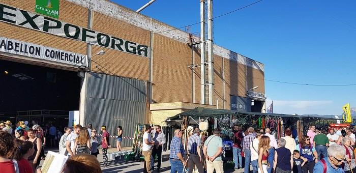 Imagen de archivo de Expoforga. (FOTO: Rebeca Ruiz)