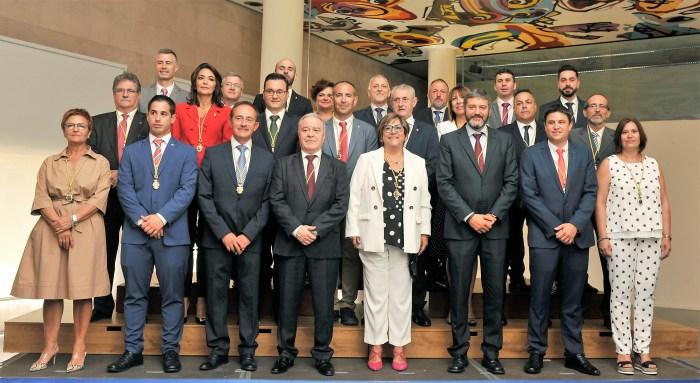 PUEBLOS. Constitución Diputación Provincial de Huesca. (FOTO: DPH/P. OTÍN)