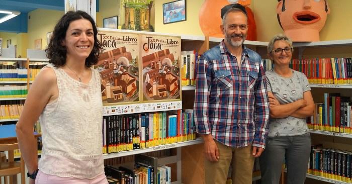 ACTIVIDADES CULTURALES. Presentación de la Feria del Libro de Jaca. (FOTO: Rebeca Ruiz)