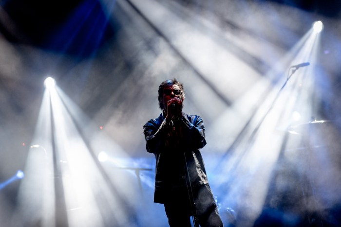 ECHO AND BUNNYMEN. Echo and The Bunnymen, en Pirineos Sur. (FOTO: Jaime Oriz)