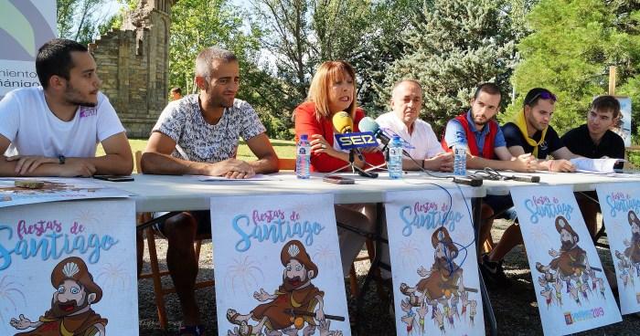 PROPUESTAS. Presentación de las fiestas de Sabiñánigo. (FOTO: Rebeca Ruiz)