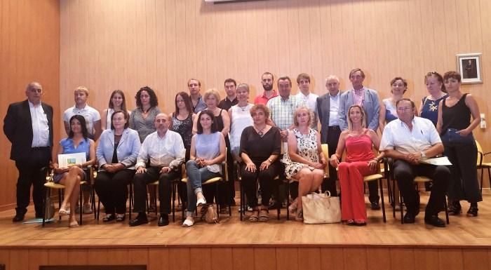 MONTSE CASTÁN. Montse Castán, junto al resto del consejo.