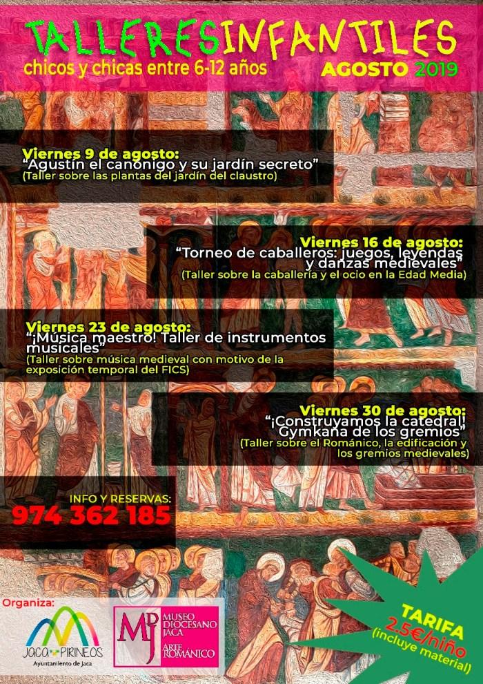 TALLERES INFANTILES. Museo Diocesano de Jaca.