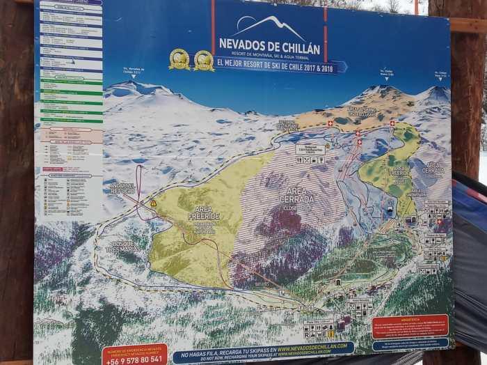 CHILE. Concentración del CETDI Aragón Alpino.