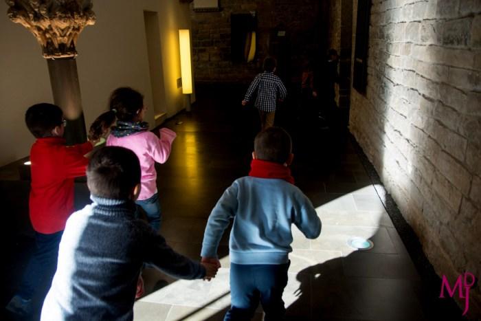 TALLERES INFANTILES. Escolares en el MDJ. (FOTO: MDJ)