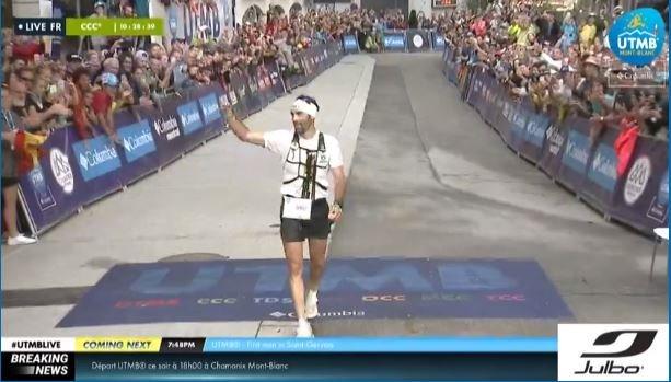 CHAMONIX. Luis Alberto Hernando gana la 100K del Mont Blanc. (FOTO: Twitter UTMB)