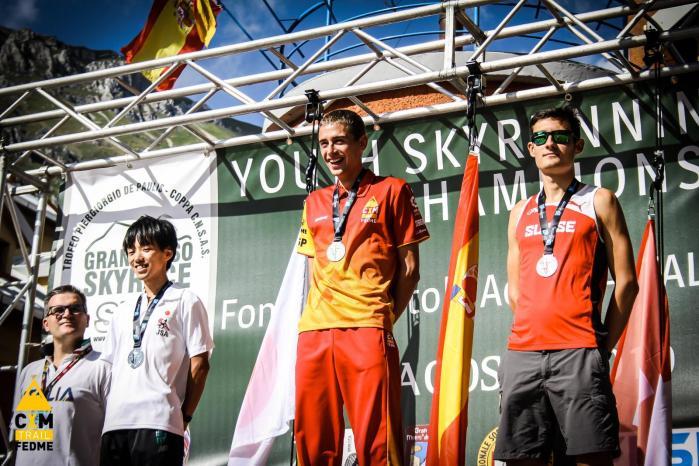 DANIEL OSANZ.  Campeonatos del Mundo Juveniles