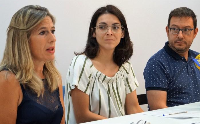 CENTRO DE OCIO Y JUVENTUD. De izquierda a derecha, Lardiés, Climente y González. (FOTO: Rebeca Ruiz)
