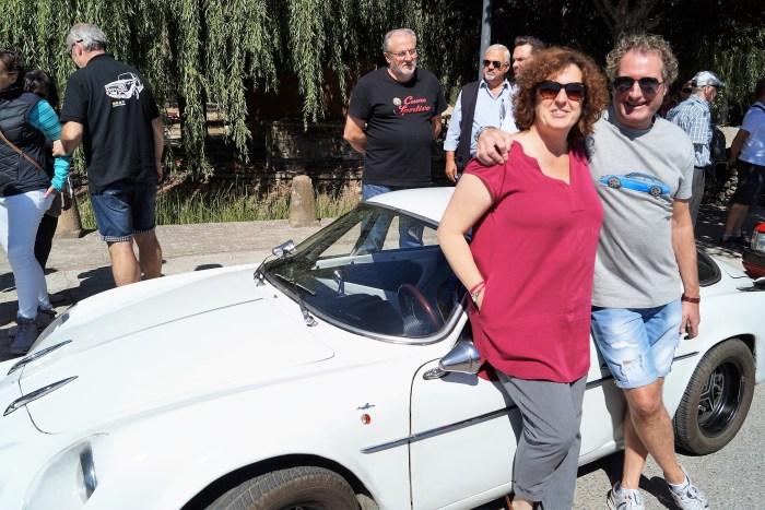 JACETANIA'S CLASSIC CARS. Concentración en Santa Cilia -Elvira Agustín y Alberto Ara-. (FOTO: Rebeca Ruiz)