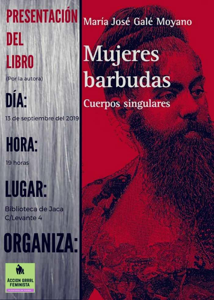 MUJERES BARBUDAS. Libro de María José Galé.