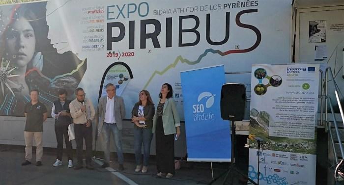 PIRINEO. Inauguración del Piribus en Jaca. (FOTO: Javi del Pueyo)