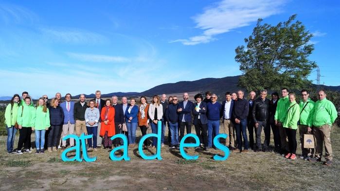 CIELOS DE ASCARA. Participantes en el encuentro para presentar el compromiso de Atades con los Objetivos de Desarrollo Sostenible de la Agenda 2030. (FOTO: Rebeca Ruiz)